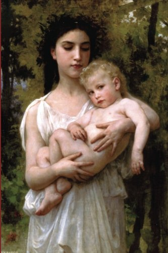 """Download """"The Younger Brother"""" by William-Adolphe Bouguereau - 1900: Journal (Blank / Lin (Art of Life Journals) PDF"""