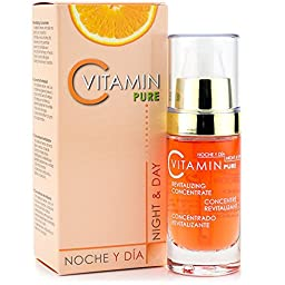 Pure Vitamin C Revitalizing Concentrate by Noche Y Dia Night & Day