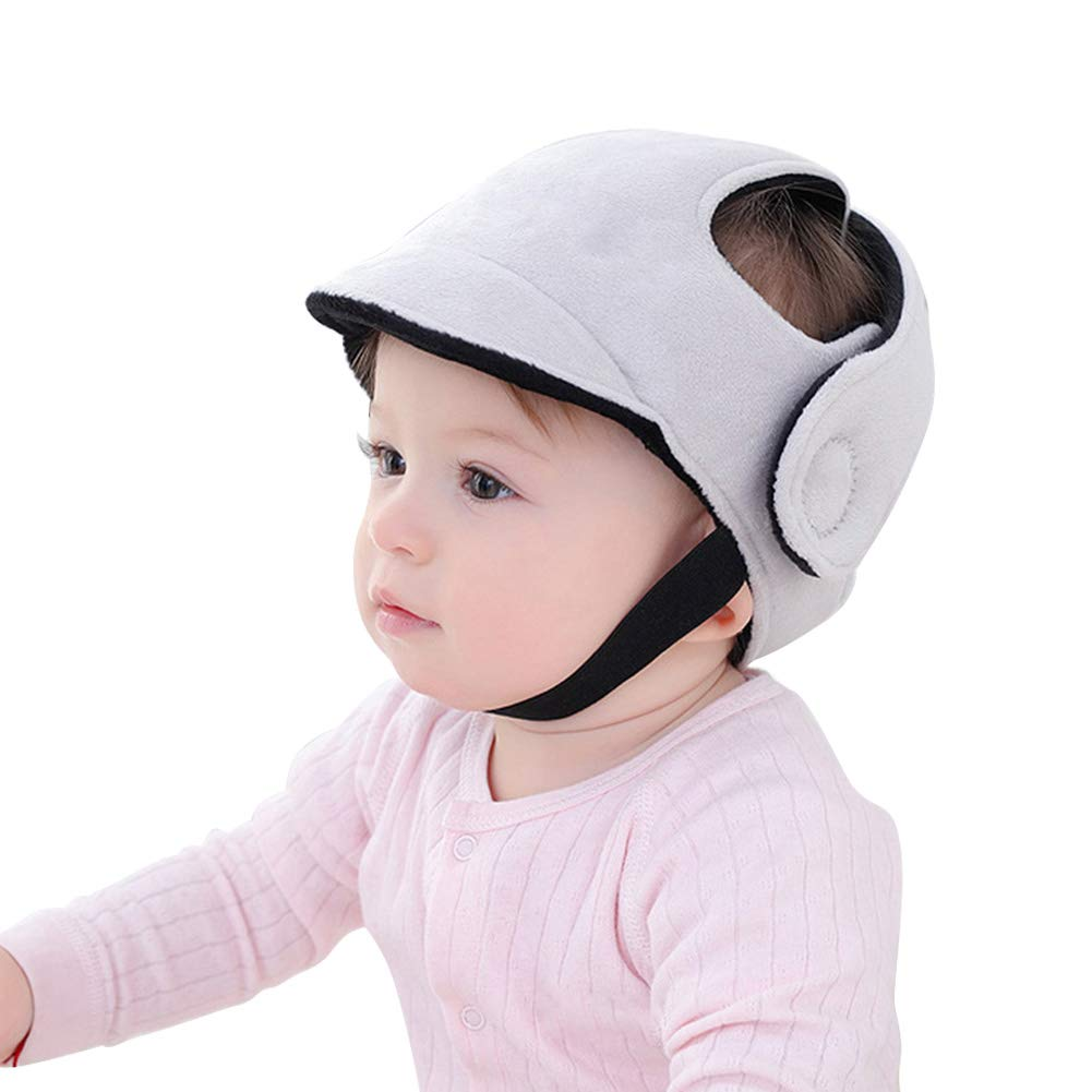 Infant Walking Helmet, Baby Bump Helmet for Head Protector Adjustable Protective Cap Head Cushion for Walking and Playing