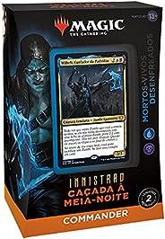 Magic: The Gathering - Deck de Commander de Innistrad: Caçada à Meia-noite – Mortos-vivos Desenfreados (azul e