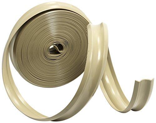 Camco 25093 Vinyl Trim Insert (1 x 25', Beige) Color: (Beige Vinyl Trim)