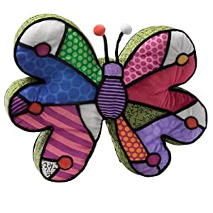 Almohada Butterfly Plush Britto
