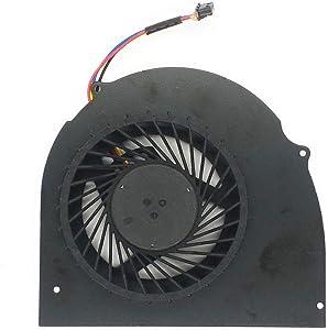 Lee_store CPU Cooling Fan Compatible for Dell Latitude E6540 Precision M2800 Series Laptop 072XRJ CN-072XRJ 4-Pins