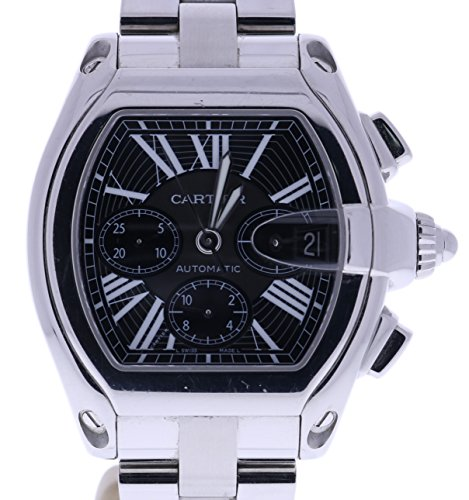 Cartier Roadster Chronograph automatic-self-wind mens Watch 2618 (Certified Pre-owned)