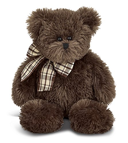 16 Inch Brown Teddy Bear (Bearington Bosco Plush Stuffed Animal Teddy Bear, Chocolate Brown 16