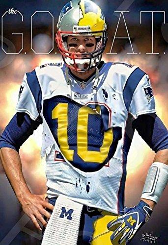 481557ec6bdf Tom Brady Michigan Wolverines Memorabilia at Amazon.com