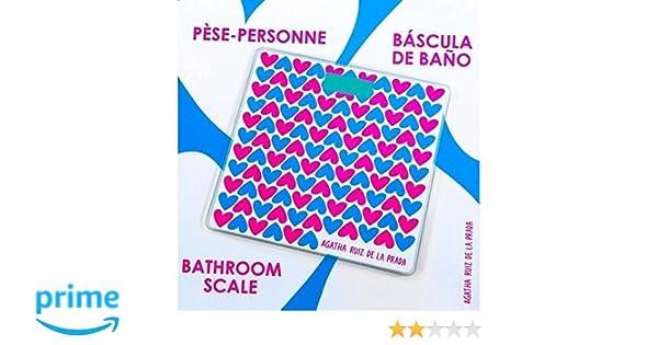BASCULA BAÑO Digital Agatha Ruiz DE LA Prada/Moderna / DISEÑO: Amazon.es: Electrónica