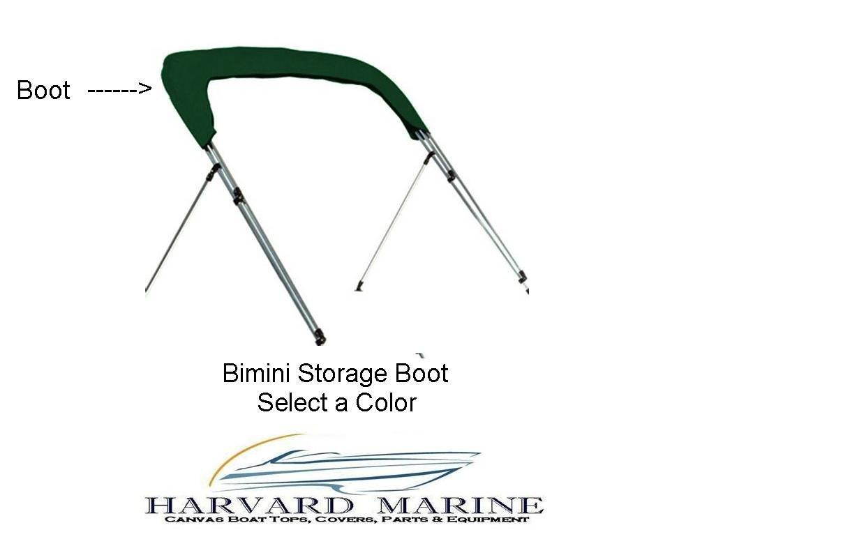 Harvard Marine Westland Boat Bimini Top Storage Boot Cover ~ Sunbrella Fabric ~ Select Width ~ Select Color