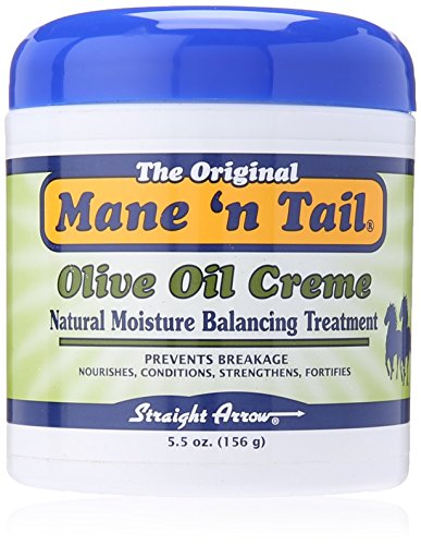 - Mane 'n Tail Olive Oil Creme NATURAL MOISTURE BALANCING TREATMENT 5.5 Ounce