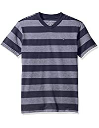 Tommy Hilfiger Boys' Ben Stripe Tee