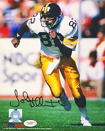 John Stallworth Autographed Pittsburgh Steelers 8x10 Photo (White) - JSA COA