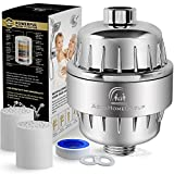 Kyпить AquaHomeGroup 12 Stage Shower Water Filter - 2 Cartridge Included - Removes Chlorine, Impurities & Unpleasant Odors - Boosts Skin and Hair Health - For Any Shower Head and Handheld Shower на Amazon.com