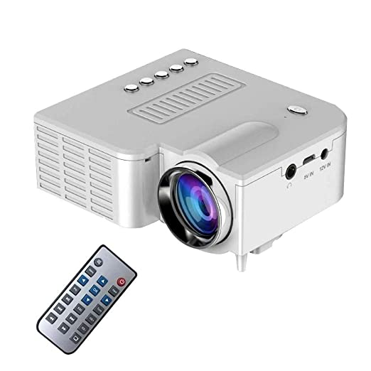 Ting-Times Mini LED Projector, 2018 Upgraded Deeplee Portable ...