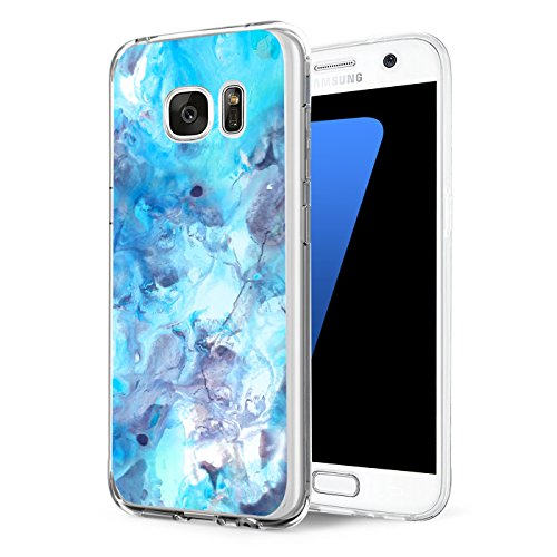 Price comparison product image Beryerbi Samsung Galaxy s7/s7 Edge Case Ultra Thin Clear Soft TPU Silicone Transparent Rubber Cover Protector Scratch Resistant Shock Absorption Back (Galaxy s7 Edge, 7)