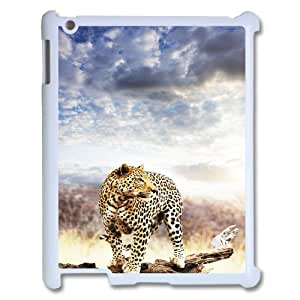 Ipad2,3,4 The plum flower leopard Phone Back Case Personalized Art Print Design Hard Shell Protection DF012879