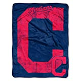 """MLB Cleveland Indians """"Triple Play"""" Micro Raschel"""
