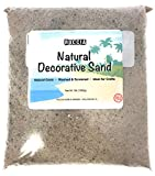 3 Pounds | Real Sand | Natural Color | For Interior Decor, Vase Filler, Sand Crafts, Nautical Theme Design, and More