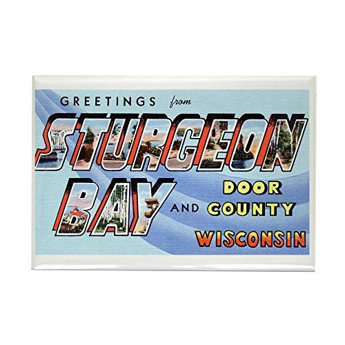 CafePress - Sturgeon Bay Wisconsin Rectangle Magnet - Rectangle Magnet, 2