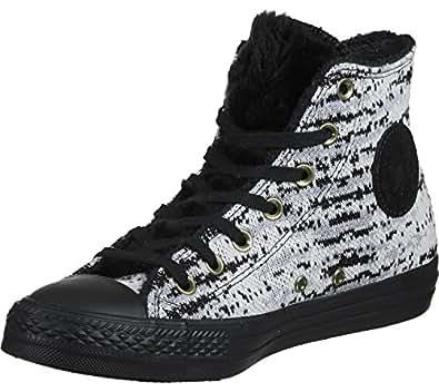 Amazon.com   Converse Chuck Taylor All Star Knit Fur Hi