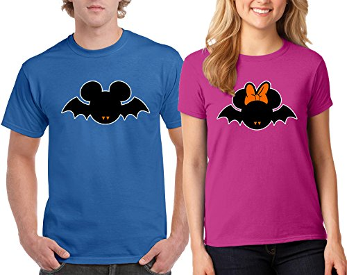 Disney Minnie & Mickey Bat Halloween Costumes Couple