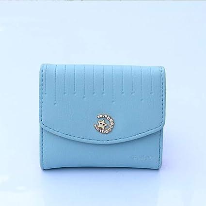 Cartera Monedero Star and Moon Cute Tri Fold Mini Wallet ...