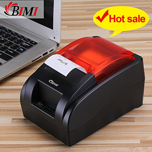 USB Thermal Receipt Printer With High Speed Printing , 58mm Pos Receipt Printers