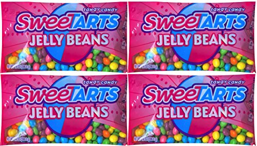 Sweetarts Easter Candy Jelly Beans Net Wt 14 Oz (pack of 4) Chocolate Sweet Jelly