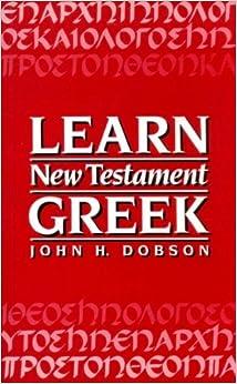 Book Learn New Testament Greek