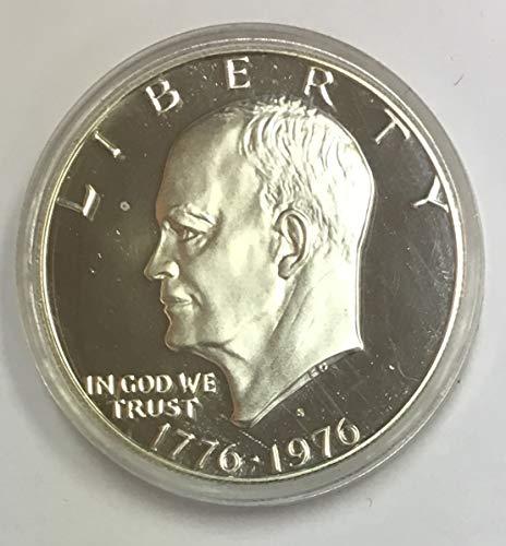 1976 S Eisenhower Bicentennial (1776-1976) Silver Dollar $1 Proof