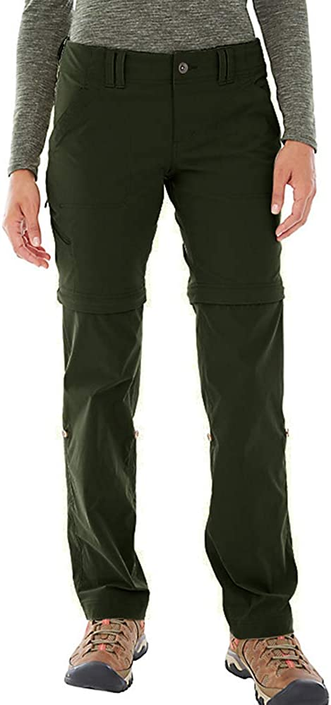 Women's Hiking Pants Quick Dry Convertible Stretch Lightweight Outdoor UPF 40 Fishing Safari Travel Camping Capri Pants