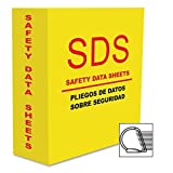 Aurora Products 13086 D-Ring SDS-2 3.0'' Binder Yellow