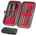 Okom Luxury Manicure 10 In 1 Stainless Steel Manicure Set