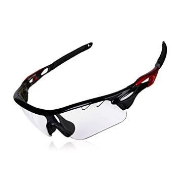 2f692c9931 GARDOM Cycling Glasses Photochromic Sunglasses for Men Women UV Protection  Lens Cycling Glasses with Straps for Riding Driving Fishing Golf Sports ...