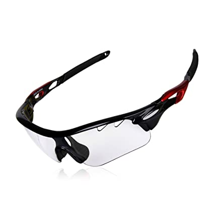 Gafas de sol fotocromáticas Gardom para ciclismo, con protección UV, lente que cambia de color, con correas para conducción, pesca, golf