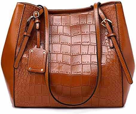 ba373d47806 Chibi-store Alligator women handbags Large capacity PU Leather Female  shoulder