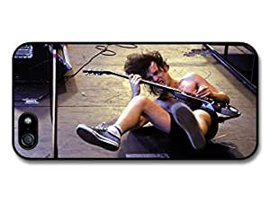 ACDC Angus Young on Stage Crazy Playing Guitar Case For Htc One M9 Cover