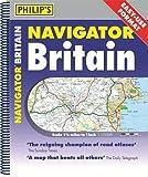 Philip's Navigator Britain Easy-Use Format: Spiral