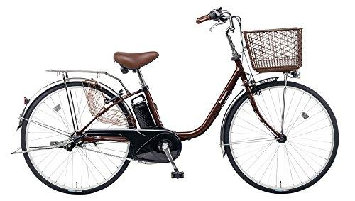 Panasonic(パナソニック) 2017年モデル ビビFX 26インチ BE-ELF63 電動アシスト自転車 専用充電器付 B01NAH9VZY T:チョコブラウン T:チョコブラウン