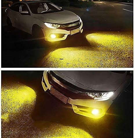 9005//HB3 H1 H4 H7 H8 H11 9005 Driving 8000 K Ice Blue 3000 K Amber Yellow Nebelscheinwerfer Birnen Birnen Bicolor Lampen Nebelscheinwerfer Yellow Ice Blue