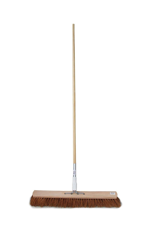 Kokos Balai à 4 trous avec manche pour appareil à 4 trous 40 cm