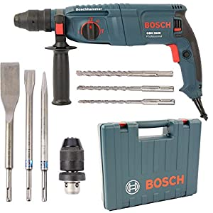bosch drill gbh 2600 professional 720 w with case diy tools. Black Bedroom Furniture Sets. Home Design Ideas
