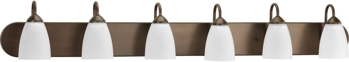 Moen DN0761CH Iso 1-Light Dual-Mount Bath Bathroom Vanity Fixture with Frosted Glass, Chrome