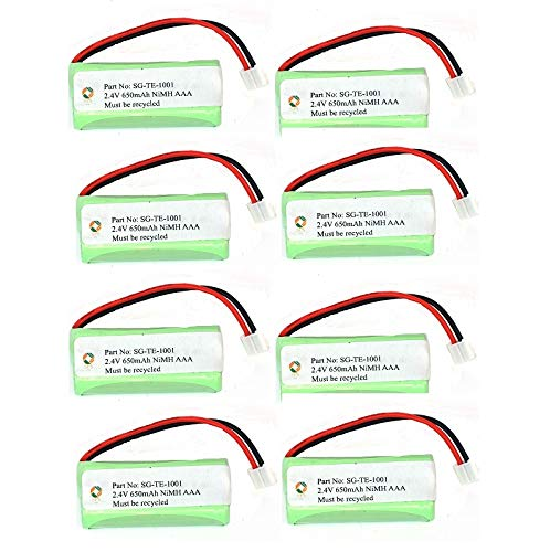 - SPS Brand 2.4V 650mAh Replacement Battery for Plantronics Calisto Pro (8 Pack)