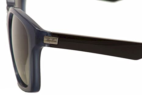 ca120e814af Ray Ban RB4197 Sunglasses-604211 Opal Blu Gray (Gray Lens)-56mm  Amazon.ca   Clothing   Accessories