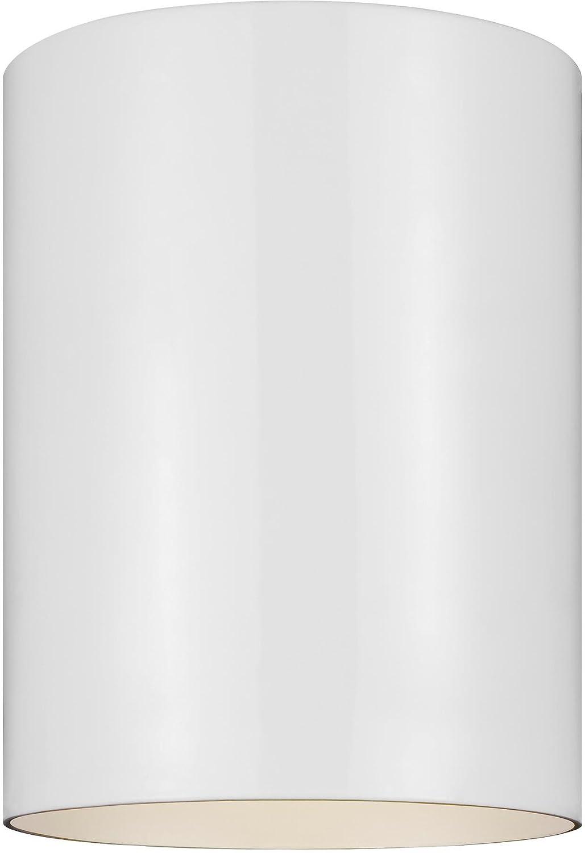 Sea Gull Lighting 7813897S-15 Small LED Ceiling Flush Mount White