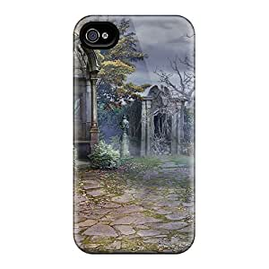 Iphone 4/4s Case Cover - Slim Fit Tpu Protector Shock Absorbent Case (witch Hunters Stolen Beauty03)