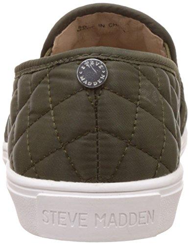 Steve Madden Vrouwen Ecentrcq Slip-on Fashion Sneaker Olijf