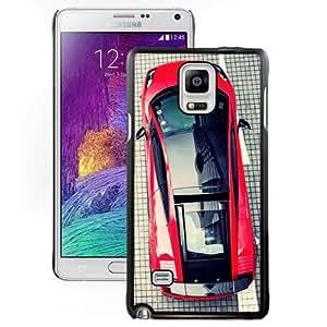 Fashionable Custom Designed Samsung Galaxy Note 4 N910A N910T N910P N910V N910R4 Phone Case With Lamborghini Gallardo Top View_Black Phone Case