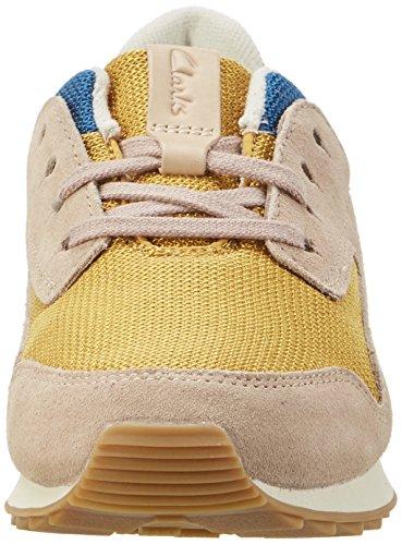 Clarks Signore Floura Mescolano Sneaker Multicolore (multicolore)