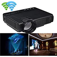 Lary intel 1000 Lumens LED Projector Home Theater USB TV 3D HD 1080P Business VGA/HDMI